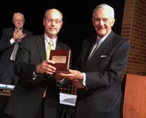 Dr. Donald R. Bobbitt and Charles Scharlau